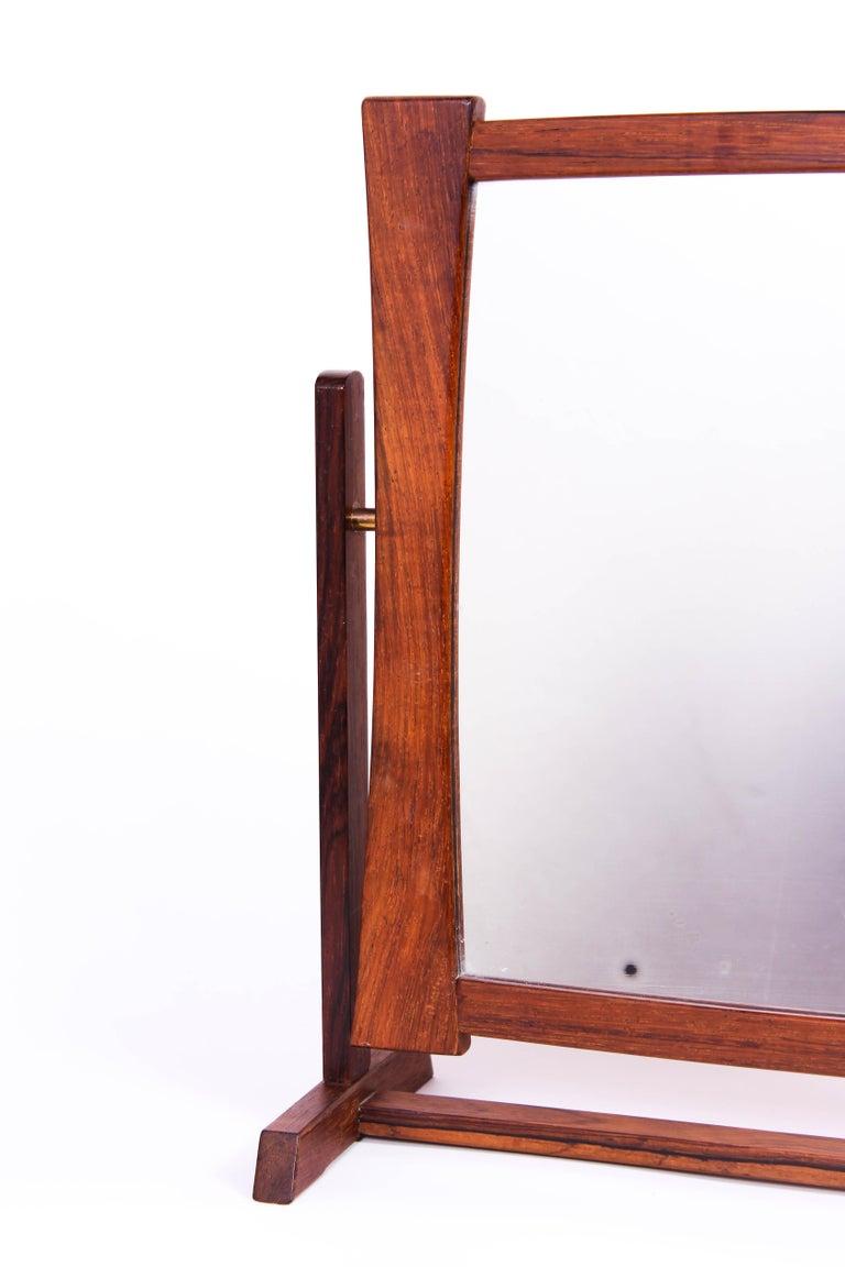Mid-20th Century Midcentury Scandinavian Table Mirror For Sale