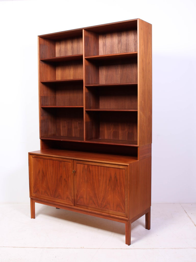 Mid-20th Century Midcentury Teak Bookcases by Alf Svensson For Sale