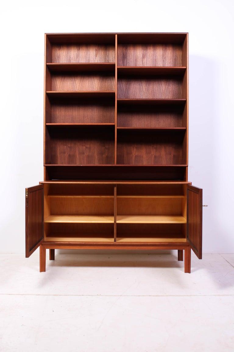 Midcentury Teak Bookcases by Alf Svensson For Sale 5