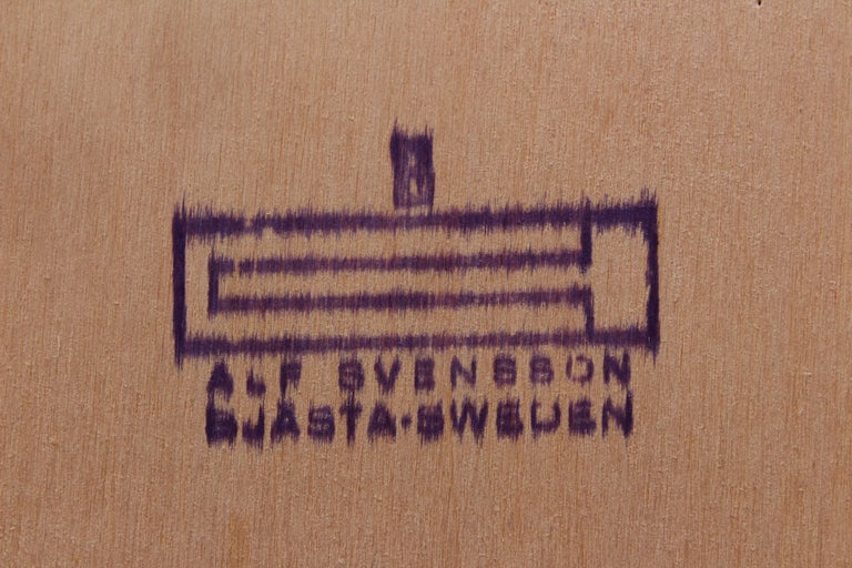Midcentury Teak Bookcases by Alf Svensson For Sale 7