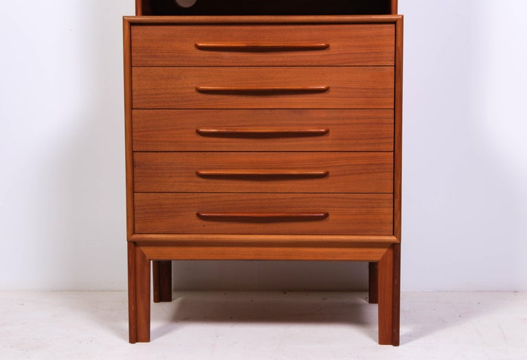 Midcentury Teak Bookcases by Alf Svensson In Good Condition For Sale In Malmo, SE