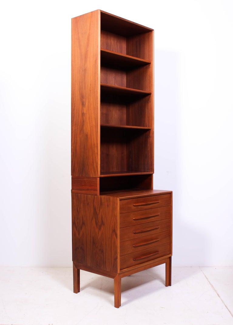 Midcentury Teak Bookcases by Alf Svensson For Sale 1