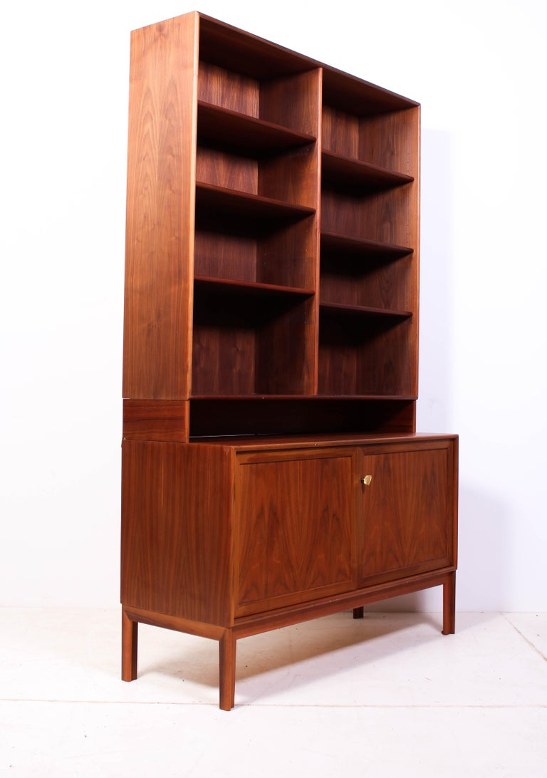 Teak Bookcase by Alf Svensson for Bjästa, 1950s For Sale 2