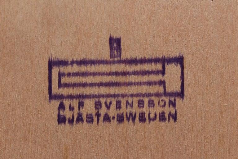 Teak Bookcase by Alf Svensson for Bjästa, 1950s For Sale 5