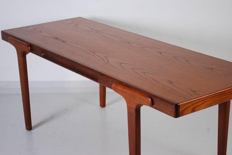 Mid-Century Modern Midcentury Danish Teak Coffee Table, 1950s For Sale