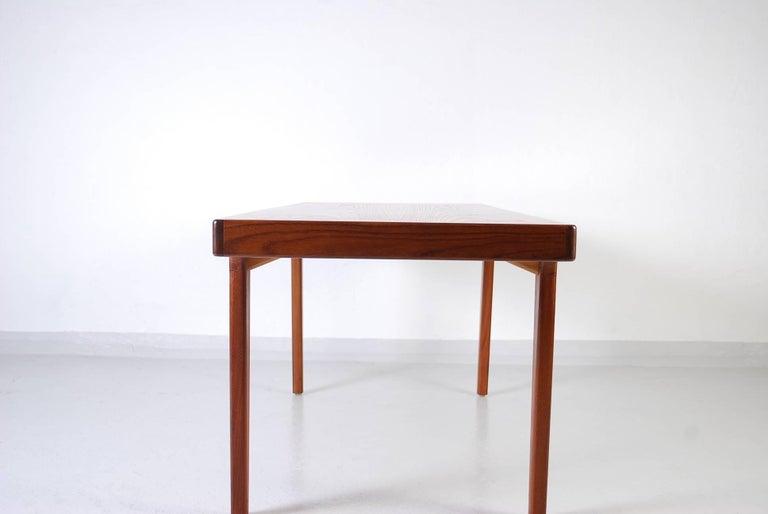 Mid-20th Century Midcentury Danish Teak Coffee Table, 1950s For Sale