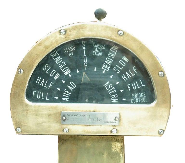 US Henschel electrical telegraph in brass.
