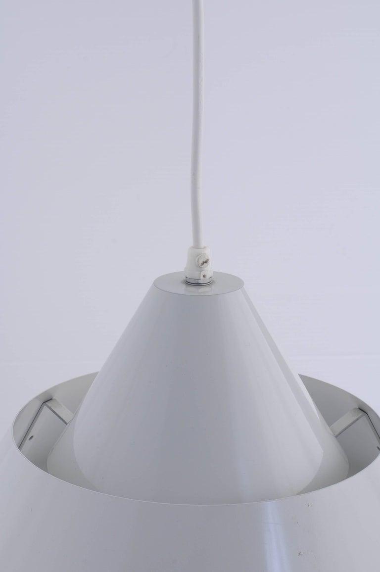 Danish Jo Hammerborg Zone Ceiling Lamp Denmark 1969 For Sale