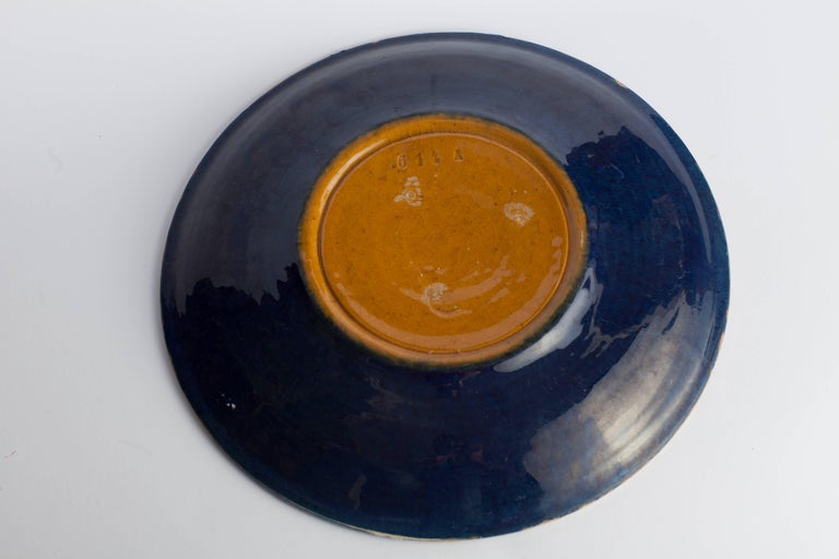 20th Century Vintage Ceramic Plate, Denmark For Sale