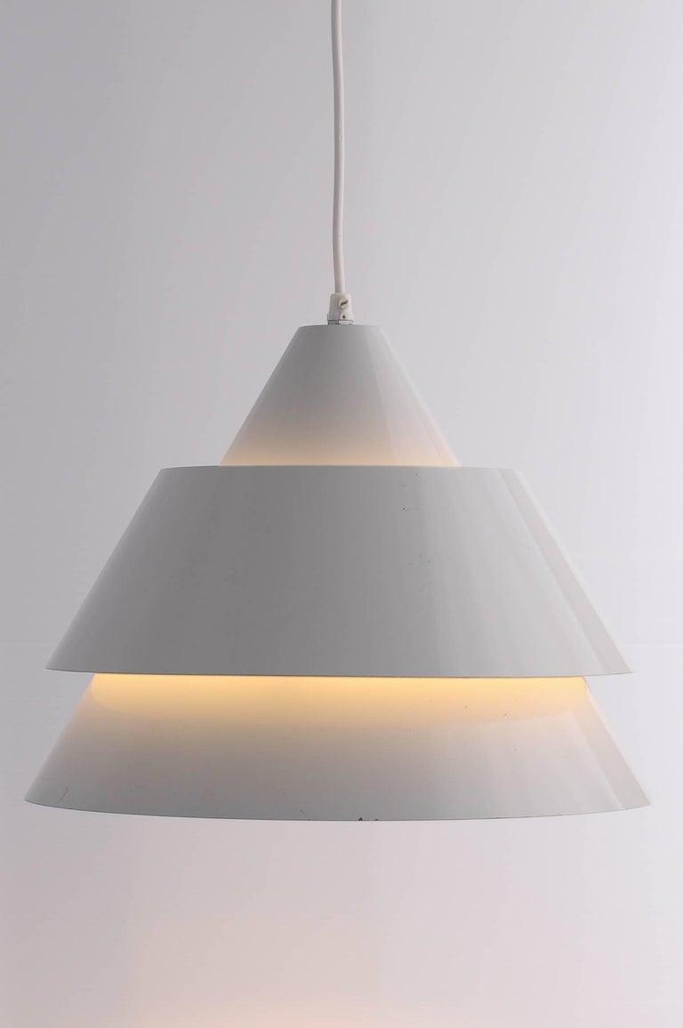 Metal Jo Hammerborg Zone Ceiling Lamp Denmark 1969 For Sale