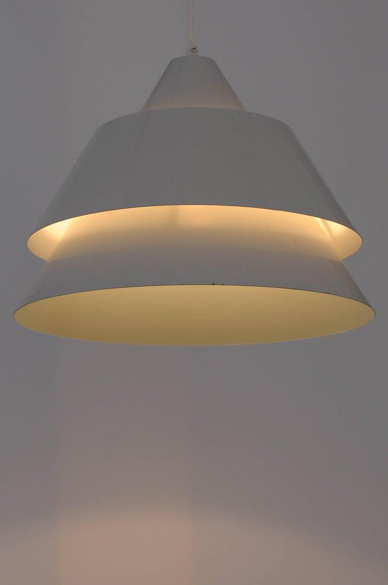 Anodized Jo Hammerborg Zone Ceiling Lamp Denmark 1969 For Sale