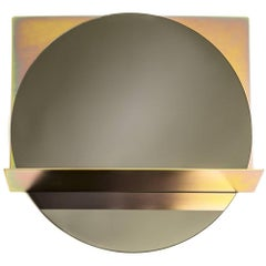 Contemporary Minimal Steel Framed Mirror 'The Starting Point Mirror'