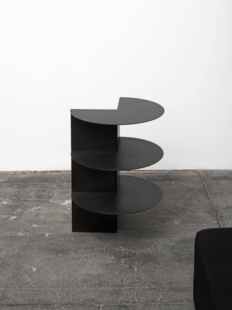 Total Garbage Side Table or End Table by Birnam Wood Studio, Powdercoated For Sale 2