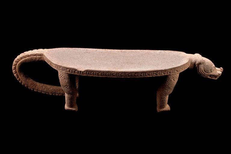 Published Pre-Columbian Nicoya Ceremonial Stone Seat, Ex Arizona Museum For Sale 5