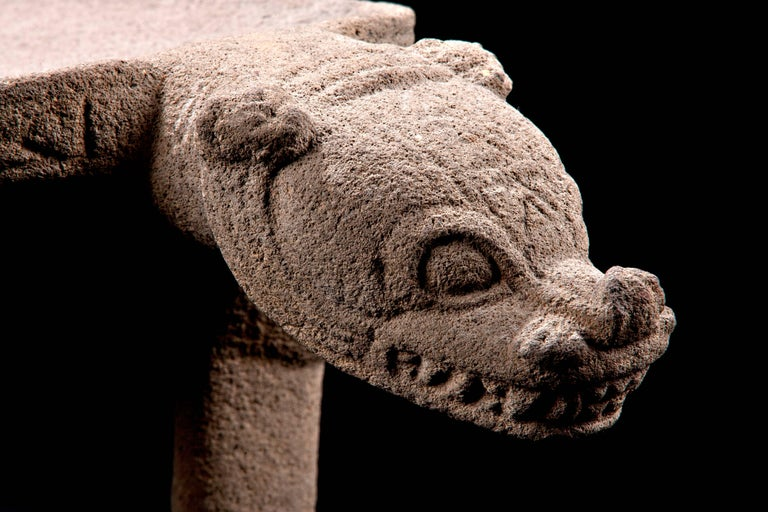 Published Pre-Columbian Nicoya Ceremonial Stone Seat, Ex Arizona Museum For Sale 4