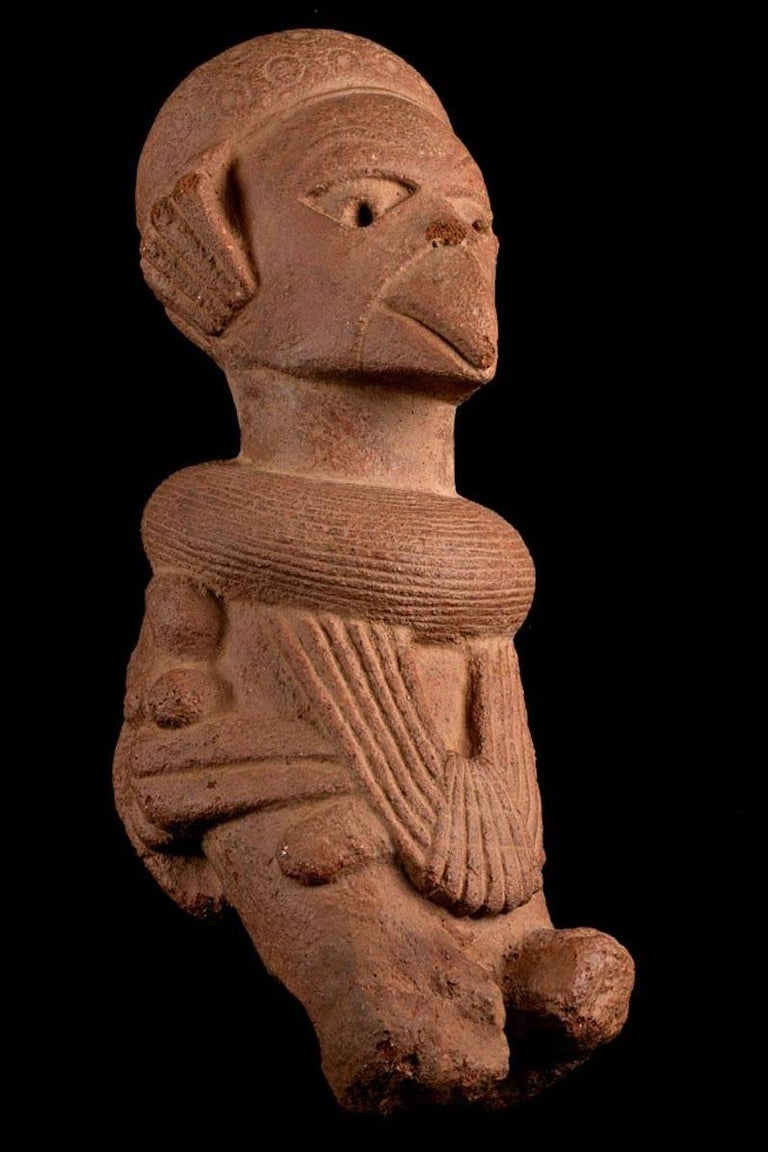 The Nok culture of Northern Nigeria, a civilization that existed from approximately 500 BC. To about 500 AD., is mostly known for its terracotta figures. Relatively little is known about the purpose of these figures or the civilization that created