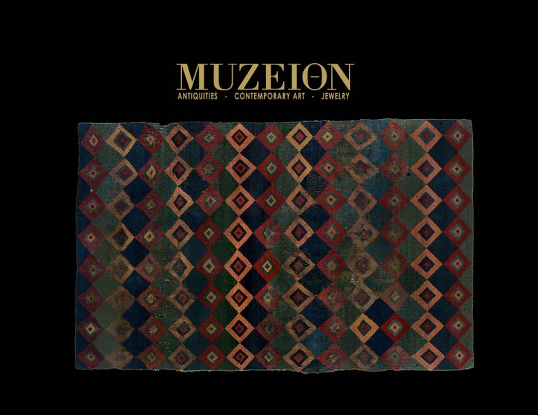 18th Century and Earlier Pre-Columbian Ceremonial Inca Tokapu of Multicolor Geometric Diamond Shapes For Sale