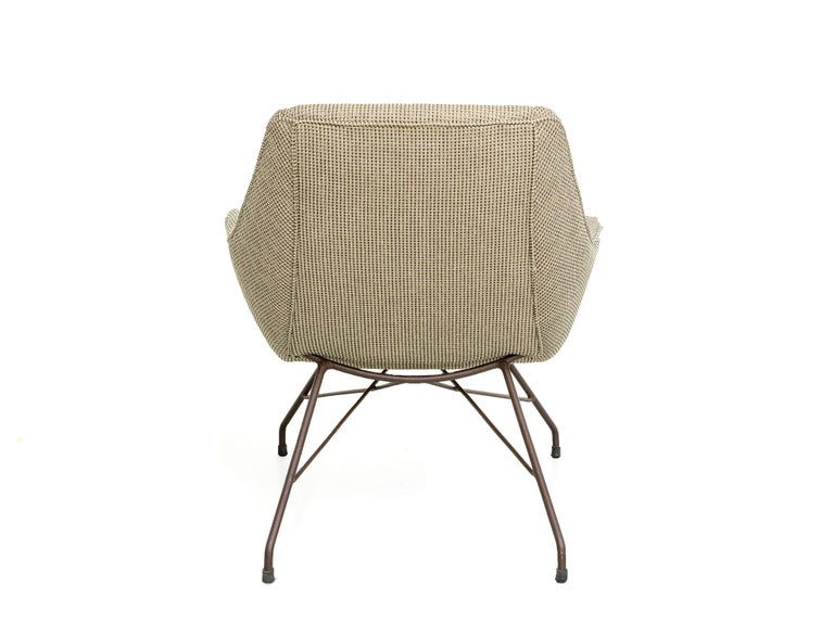 Mid-Century Modern Concha Armchair Martin Eisler & Carlo Hauner Brazilian Midcentury For Sale