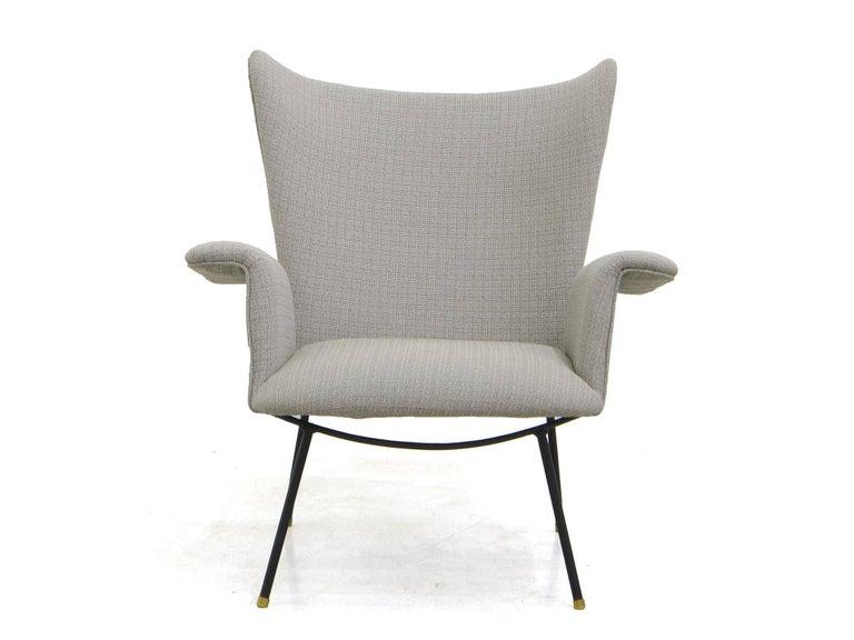 Mid-Century Modern Armchair by Martin Eisler, Brazilian Midcentury For Sale