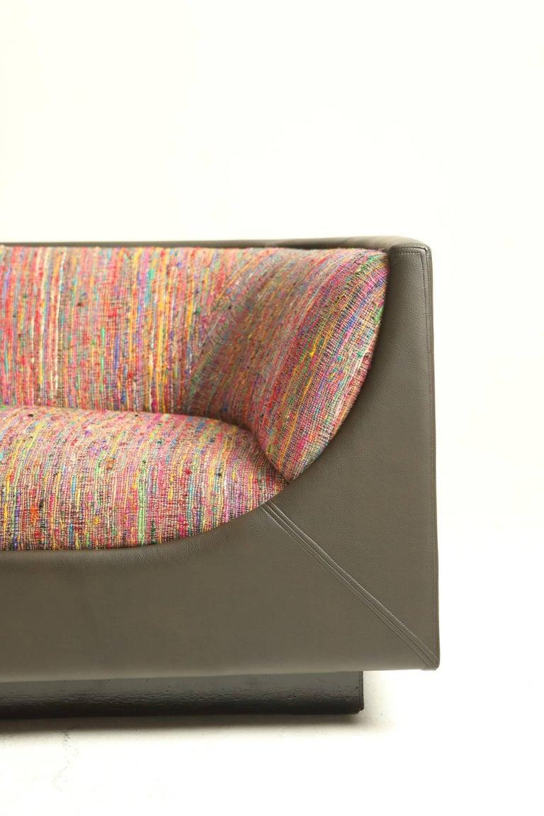 Mid-Century Modern Modern Brazilian Cubo Couch by Jorge Zalszupin For Sale