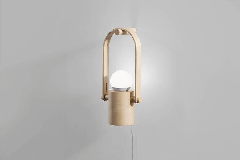 Other Handcrafted Hanging Lantern Lamp in Brazilian Contemporary Design For Sale
