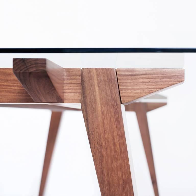 Joinery Ban Tropical Wood Table For Sale