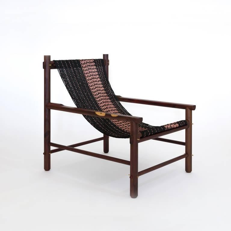 K'áan Armchair in Katalox 'Mexican Ebony' Tropical Wood. Contemporary Design. In New Condition For Sale In BACALAR, Quintana Roo