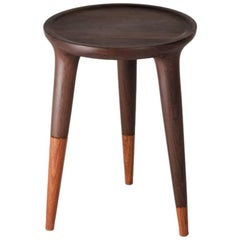 Chamak Tropical Wood Low Side Table
