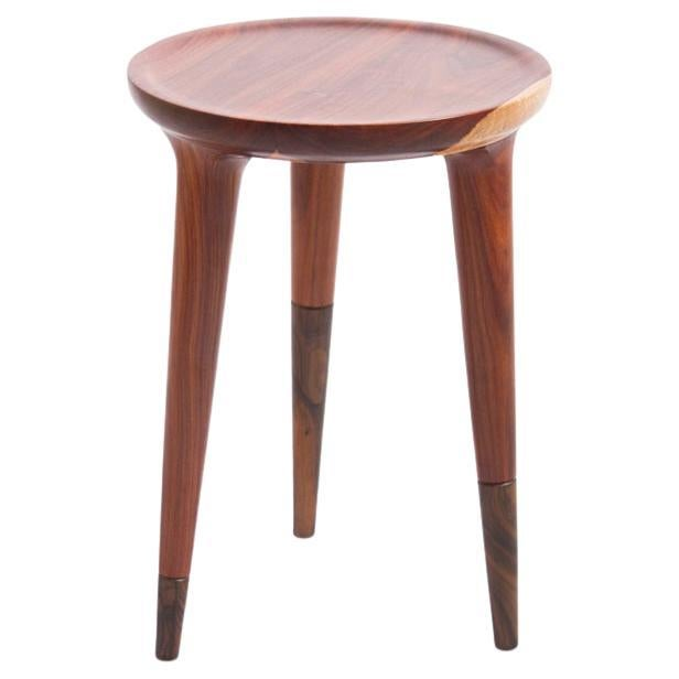 Chamak Low Side Table Made in Tropical Wood