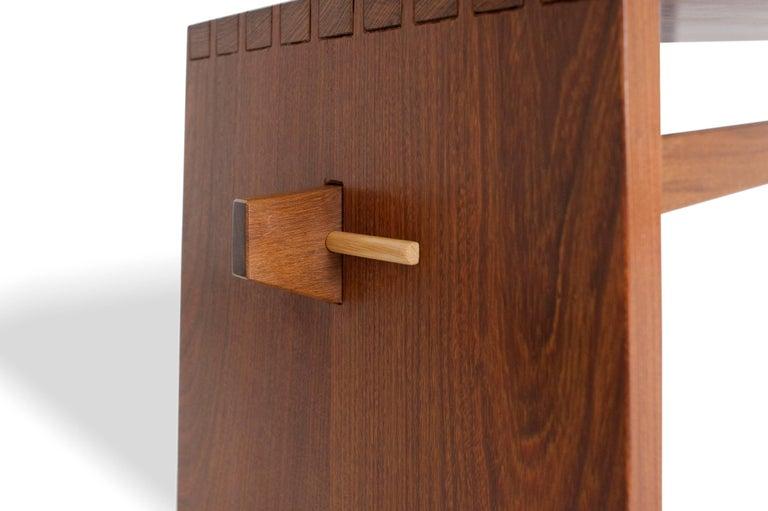 Woodwork Bench in Brazilian Hardwood by Ricardo Graham Ferreira For Sale