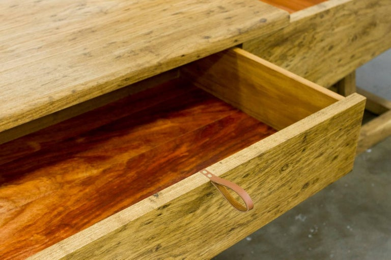 Low Sideboard Brazilian Tropical Hardwood Handcrafted by Ricardo Graham Ferreira For Sale 1