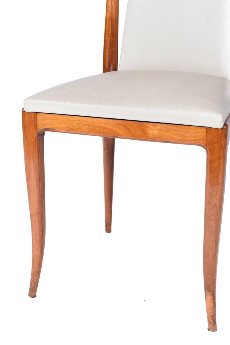 Mid-Century Modern Giuseppe Scapinelli Midcentury brazilian Chair in Caviuna, 1950s For Sale