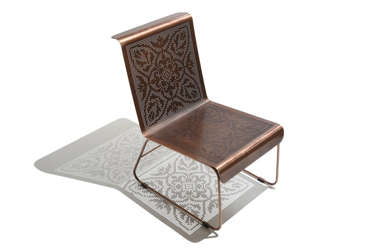 Painted Renda Armchair For Sale