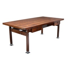 Brazilian Midcentury Desk Table Designed by Sergio Rodrigues