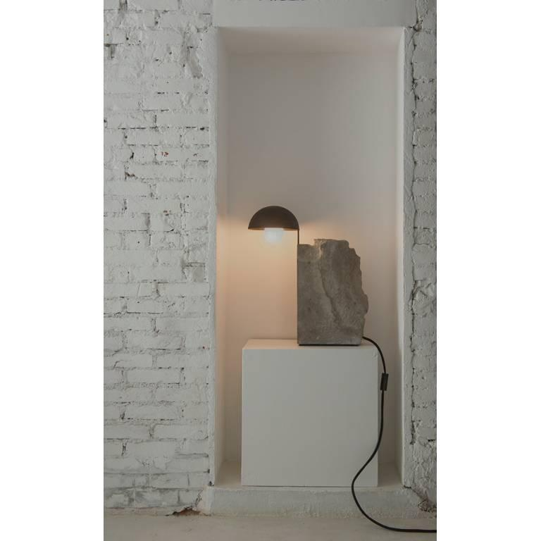 Post-Modern Pedra Table Lamp by Gustavo Neves, Brazilian Contemporary Furniture For Sale