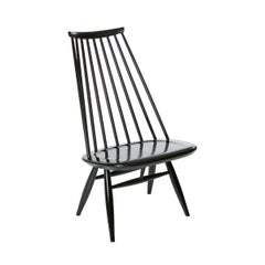 Black Mademoiselle Lounge Chair