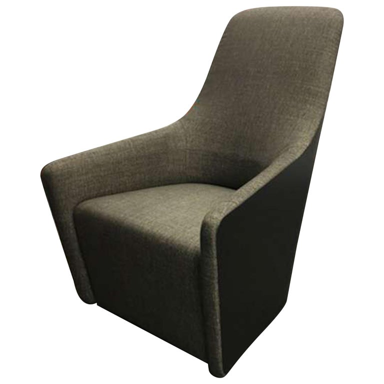 Walter Knoll Swivel High Back Foster 520 Armchair For Sale