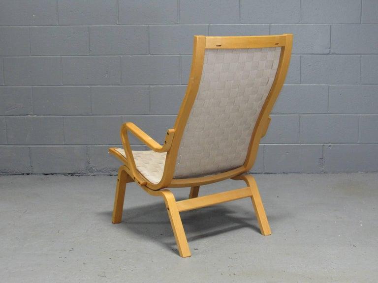 Beech Armchair by Finn Østergaard In Good Condition For Sale In Belmont, MA