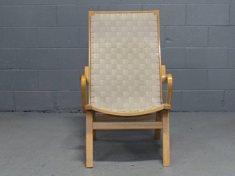 Mid-Century Modern Beech Armchair by Finn Østergaard For Sale