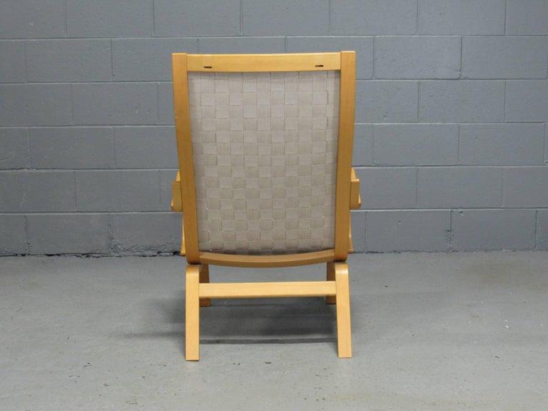 20th Century Beech Armchair by Finn Østergaard For Sale