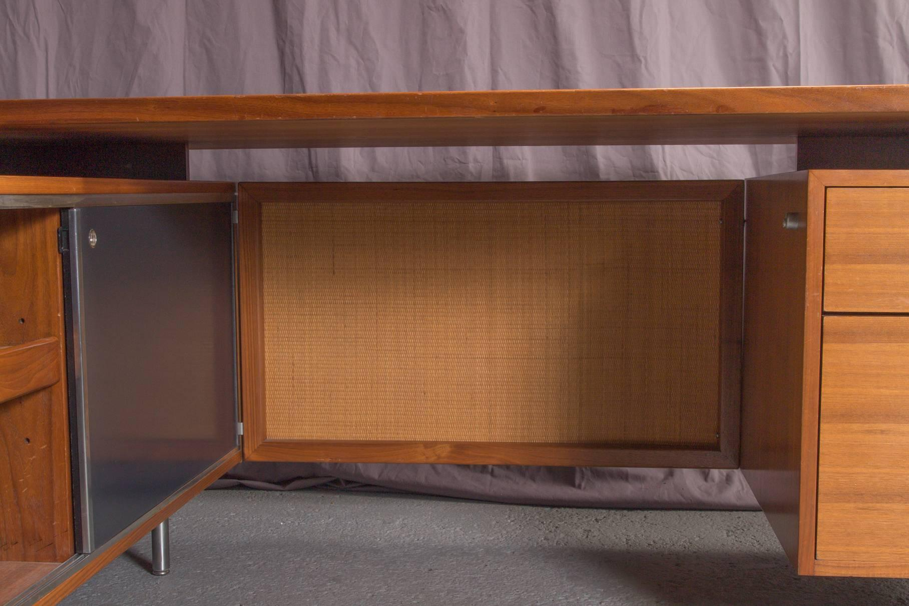 Mid Century Modern Executive L Shaped Desk Unit By George Nelson For Herman  Miller