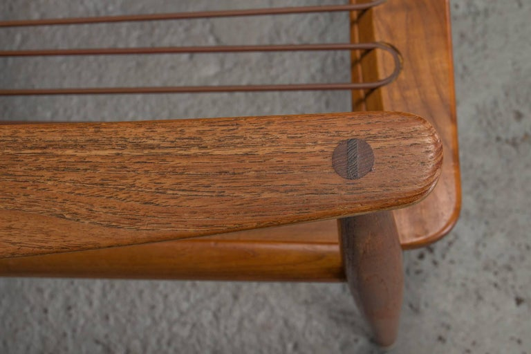 Teak Easy Chair No. 1 by Peter Hvidt & Orla Mølgaard-Nielsen For Sale 2