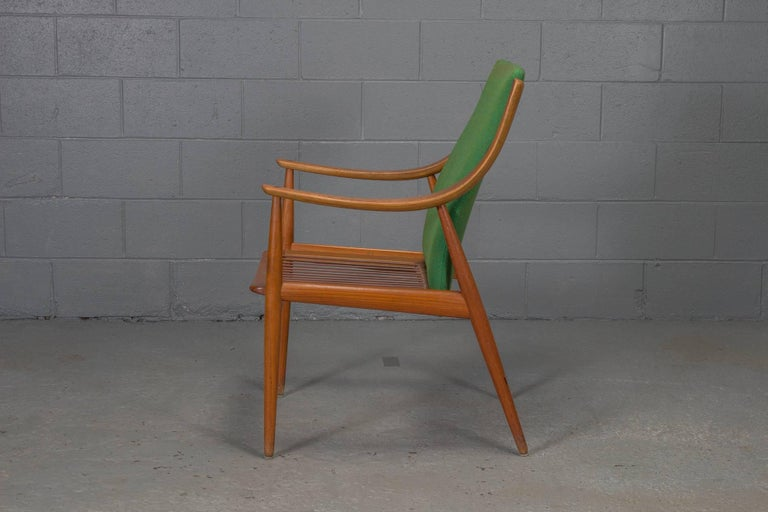 Mid-Century Modern Teak Easy Chair No. 1 by Peter Hvidt & Orla Mølgaard-Nielsen For Sale
