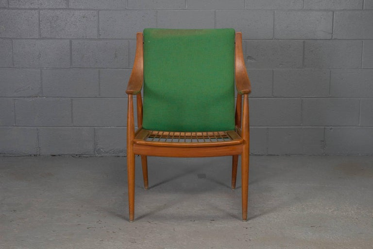 Teak easy chair No. 1 by Peter Hvidt & Orla Mølgaard-Nielsen.