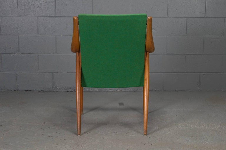 Danish Teak Easy Chair No. 1 by Peter Hvidt & Orla Mølgaard-Nielsen For Sale