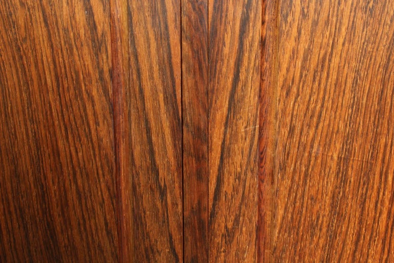 High Rosewood Sideboard by EW Bach for Sejling Skabe For Sale 3