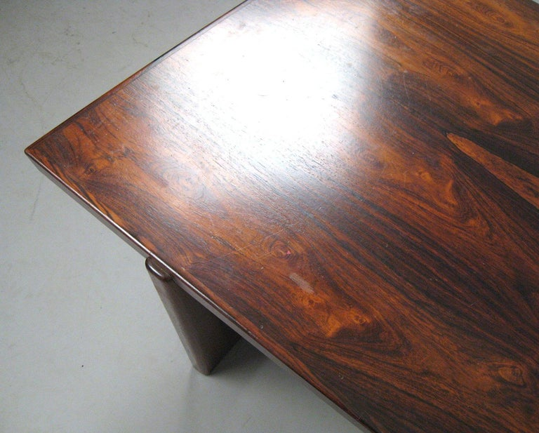 Danish Rosewood Coffee Table For Sale 2