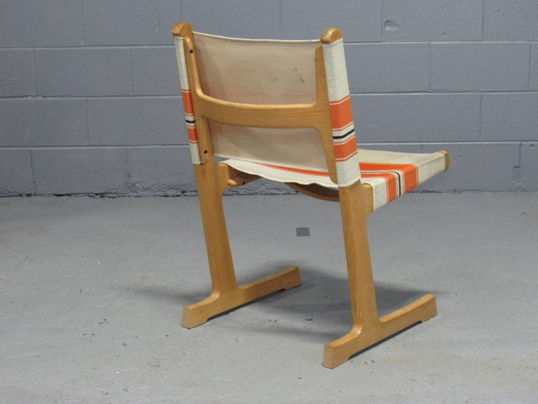 Set of 4 Cantilevered Dining Chairs by Ditte & Adrian Heath for France & Son For Sale 1