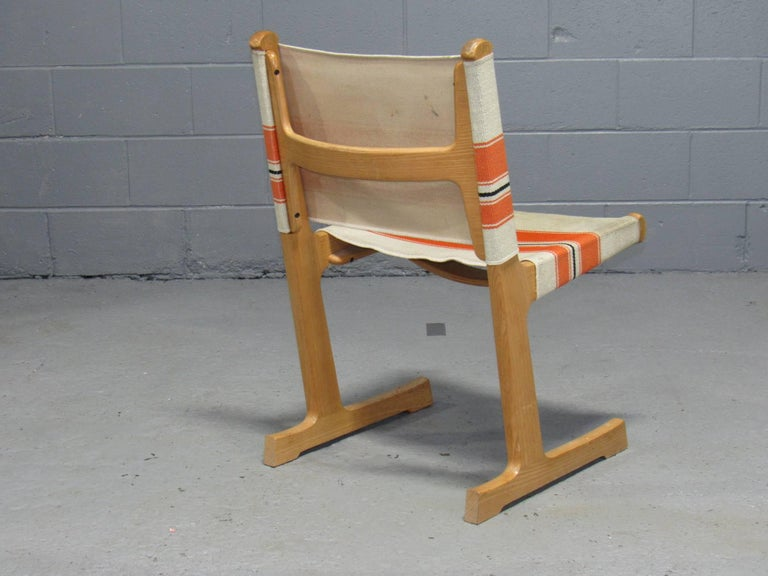 Set of 4 Cantilevered Dining Chairs by Ditte & Adrian Heath for France & Son For Sale 2