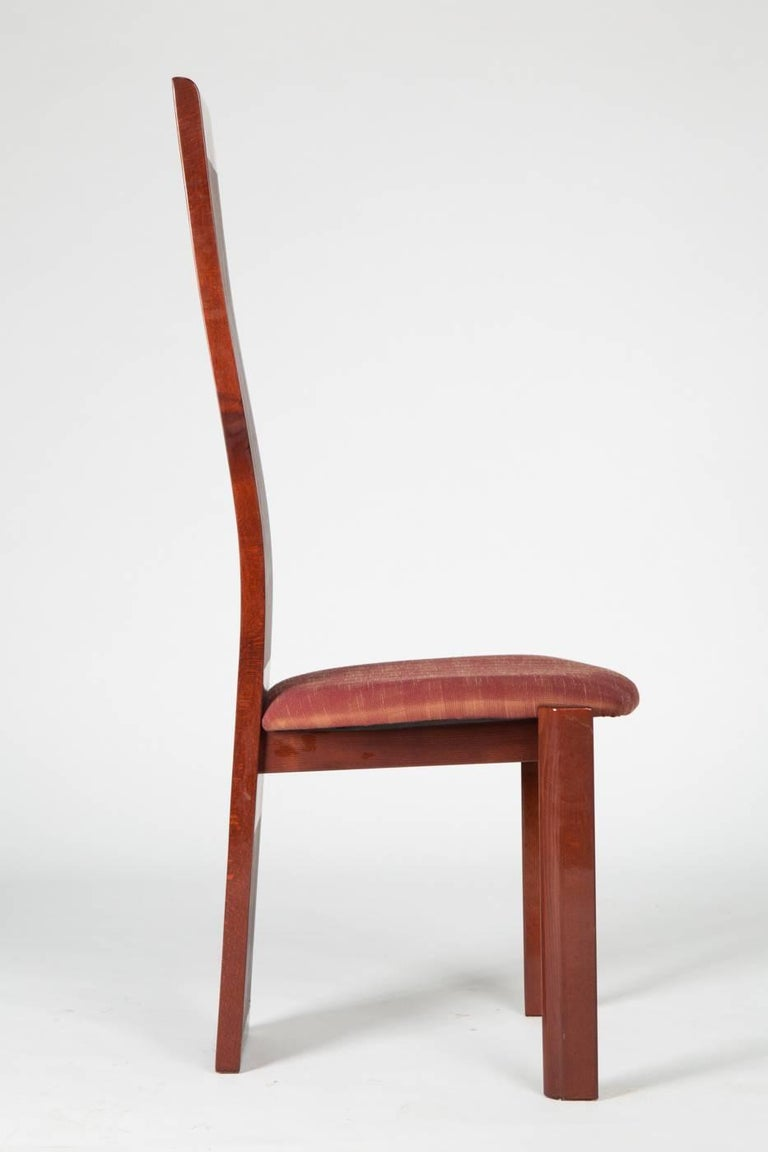 Mid-Century Modern High Back Chair by Pietro Costantini For Sale
